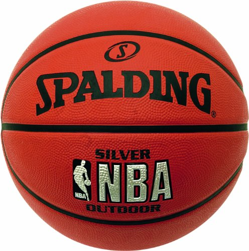 Spalding Outdoor Basketball NBA Silver