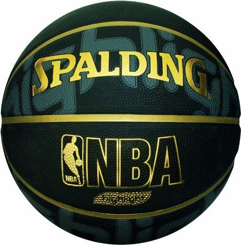 SPALDING Outdoor Basketball NBA HIGHLIGHT BLACK