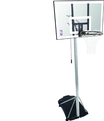 Spalding Basketballständer NBA Silver Portable