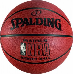 Spalding Outdoor Basketball Nba Platinum Streetball