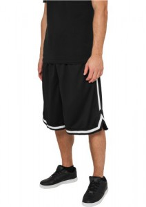 Urban Classics Basketball Shorts Stripes Mesh