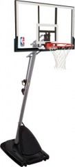 Spalding Basketballkorb Outdoor NBA Gold Portable Basketballanlage
