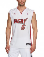 adidas Miami Heat James Lebron NBA Replica Home Basketball Trikot
